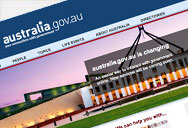 australia.gov.au - The Australian Government Information Management Office (AGIMO)