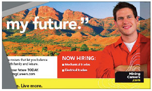 Mining Careers Now Hiring Trades Campaign